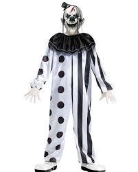 Scary Boy Costumes Halloween Killer Clown Boys Costume Kids Halloween Costume Ideas