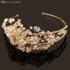 handmade tiaras wholesale high end bridal headdress new handmade tiaras