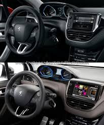 peugeot 2008 2017 peugeot 2008 interior old vs new indian autos blog