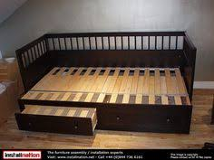 new ikea hemnes daybed frame with trundle and 3 large drawers