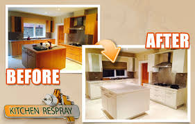 spraying kitchen cabinets kitchen respray to cream respraying cabinets elclerigo com