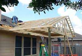 cost to build a roof over patio put a roof over patio porch roof