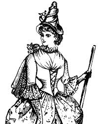 witch costume image the graphics fairy