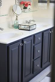 painted bathroom cabinets ideas gray by ben my painted bathroom vanity before and after