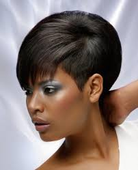 relaxed short bob hairstyle short black straight ethnic shaved sides relaxed hairstyles for