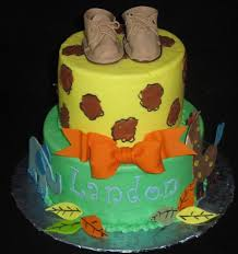 images of baby shower cakes for boys jungle theme baby shower