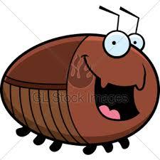 sad cartoon cockroach gl stock images