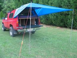 How To Make A Camper Awning Best 25 Truck Bed Mattress Ideas On Pinterest Truck Bed Tent