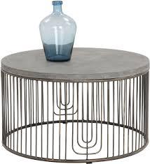 sargon grey concrete coffee table from sunpan coleman furniture