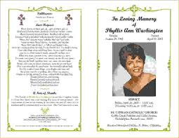 funeral booklet templates 28 images 10 best images of funeral