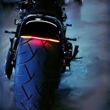 led light strip turn signal universal motorcycle soft bend tail brake stop turn signal