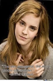 Emma Watson Meme - emma watson the more people can wonder by blake gordon 3158