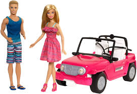 barbie cars barbie beach cruiser barbie u0026 ken dolls