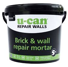 Cement Mix For Pointing Patio by U Can Brick U0026 Wall Repair Mortar 5kg Tub Departments Diy At B U0026q