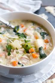day after thanksgiving turkey carcass soup creamy turkey gnocchi soup wholefully