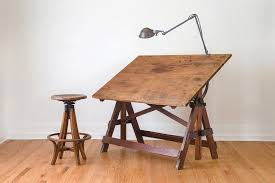 Large Drafting Table Vintage Industrial Large Keuffel Esser Drafting Table Vintage