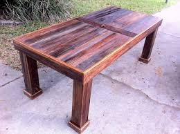 Cypress Outdoor Furniture by Reclaimed Cypress Patio Table By Stephenschaad Lumberjocks Com