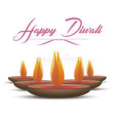 vector illustration traditional celebration of happy diwali