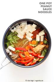 My Recipe Journey Main Dishes Recipes To Cook Pinterest One Pot Peanut Sauce Noodles Vegan Richa