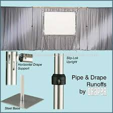 pipe and drape backdrop rk portable pipe and drape backdrops for events buy portable