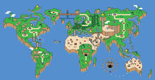Wind Waker Map Map Of The World Mario Styled Mario Video Games And Gaming