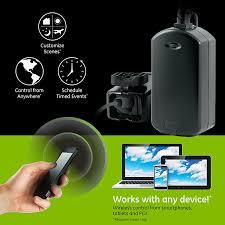 ge outdoor lighting control ge z wave plus outdoor wireless smart lighting control slickdeals net