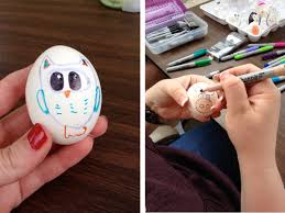 Decorating Easter Eggs With Sharpie Pens by Designing Easter Eggs With Sharpies