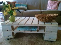 Coffee Table From Pallet White Pallet Coffee Table Diy Projects