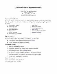 Fast Food Job Description For by Cashier Job Duties For Resume Nfgaccountability Com