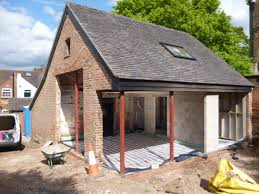 refurbishment cj goodwin derby new homes extensions re shaped and re laid a shared access driveway including building a new double garage