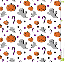cartoon halloween background seamless pattern pumpkin cartoon for halloween card wallpaper