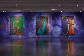 Light And Day Chris Ofili Night And Day Aspen Art Museum