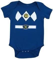 power ranger halloween costumes for kids infant baby mighty morphin power rangers blue ranger costume