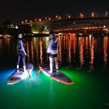 kayak lights for night paddling light the night kayak or paddleboard tour for vancouver gift