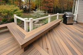 Wood Bench Plans Deck by L Shaped Outdoor Bench Design Plans Backless Composite Garden