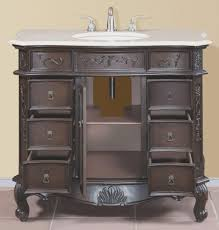 Bamboo Bathroom Cabinet Bathrooms Design Sink Bamboo Bathroom Vanity Modern Double Inch