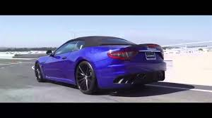 matte purple maserati maserati granturismo on 22