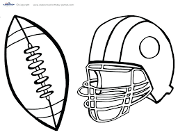 Tafsuit Com Wp Content Uploads 2017 09 Sports Colo Football Coloring Page