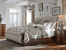 Tufted Sleigh Bed King Bernhardt Upholstered Sleigh Bed King Vine Dine King Bed Build