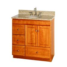 ultraline 30 inch bathroom vanity with left drawers