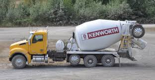 kenworth concrete truck concrete products market gains augment kenworth s timely t880
