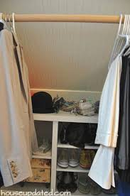 Adding A Closet To A Bedroom The 25 Best Slanted Ceiling Closet Ideas On Pinterest Attic