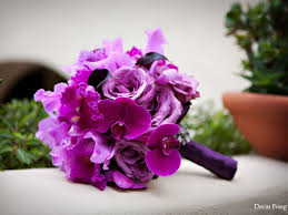 orchid bouquet purple favorite color a second chance at