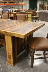 big timber barnwood extension table riverwoods home furnishings