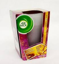 Scented Fireplace Logs by Air Wick Mulled Wine And Crackling Fire Candle 105g Approved