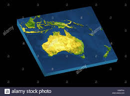 New Zealand And Australia Map Australia And New Zealand Map Stock Photos U0026 Australia And New