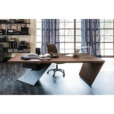 Chefschreibtisch Nasdaq Designer Schreibtisch Aus Holz Arredaclick