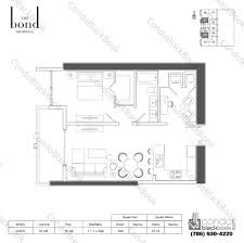 Skyline Brickell Floor Plans The Bond Unit 2607 Condo For Sale In Brickell Miami Condos