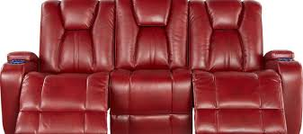 inspirational red reclining sofa 53 for your office sofa ideas