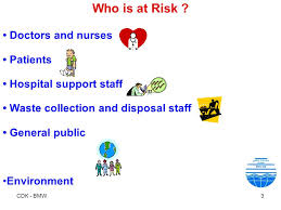 bmw hospital bio waste management in indian hospitals ppt